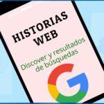 HIstorias web en Discover